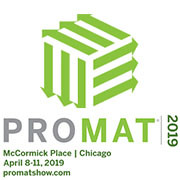8. April bis zu 11. April, PROMAT 2019, Chicago (USA), Stand S4459
